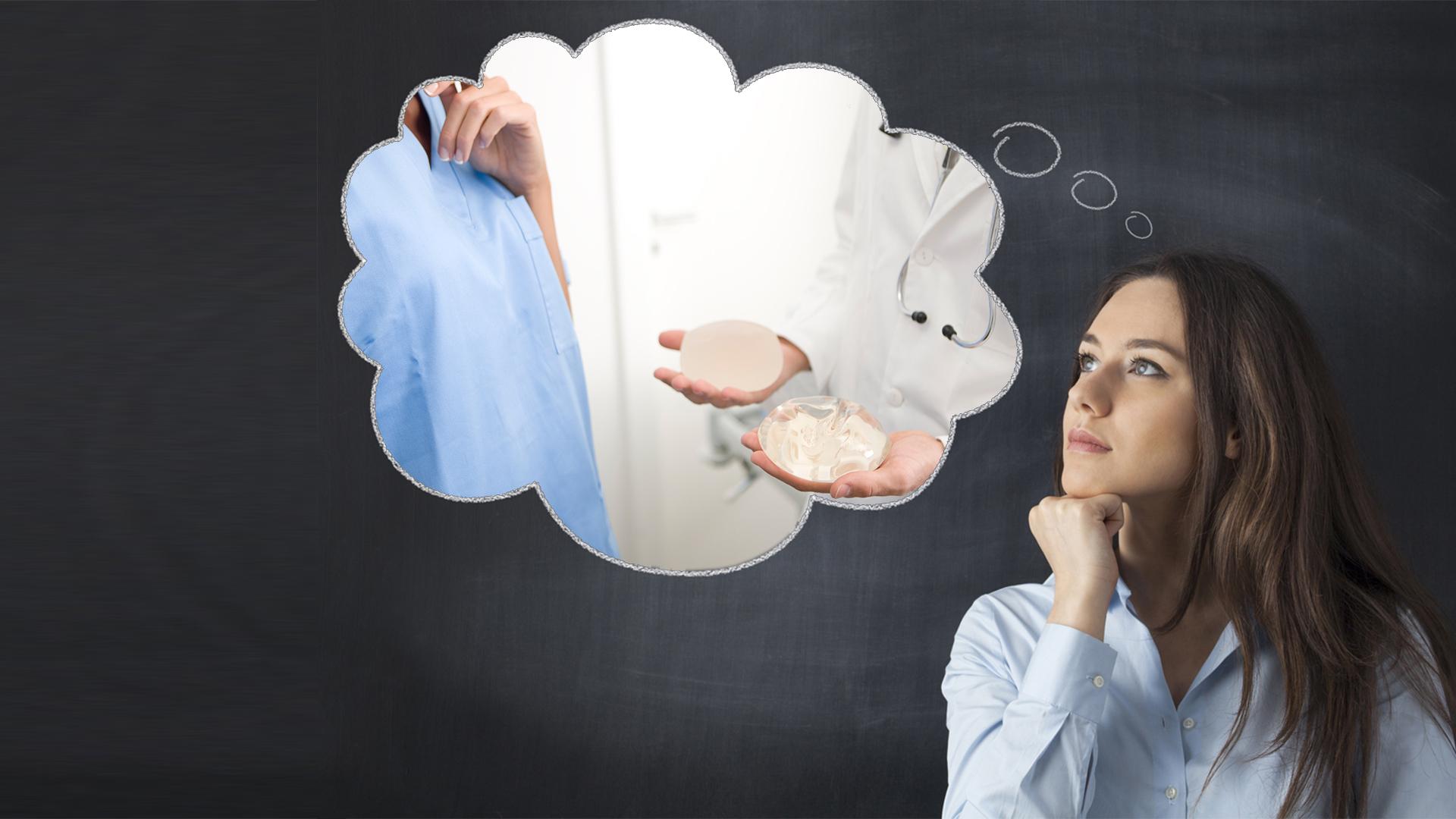 como escolher tamanho da prótese de silicone cirurgia plastica