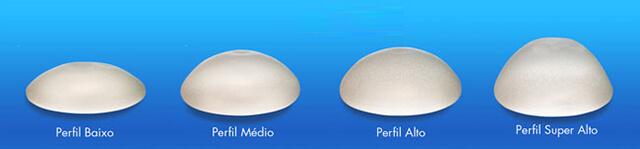 modelo de prótese silicone